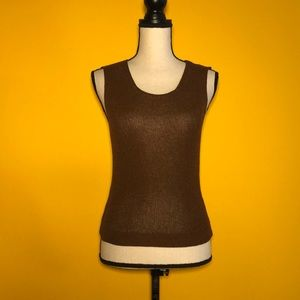 BENETTON Made in Italy sleeveless knit top